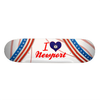I Love Newport, Kentucky Skate Board Deck