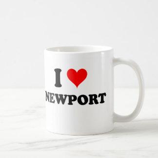 I Love Newport Massachusetts Mug