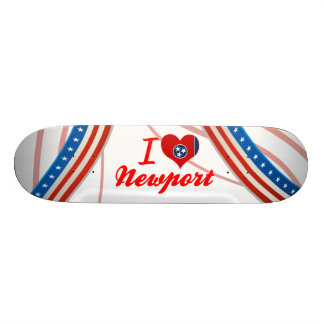 I Love Newport, Tennessee Skateboards