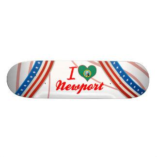 I Love Newport, Washington Skate Board