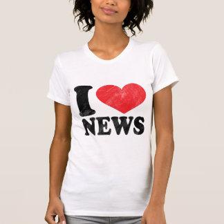 I Love News Tee Shirt