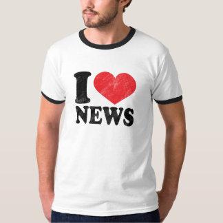 I Love News Tees