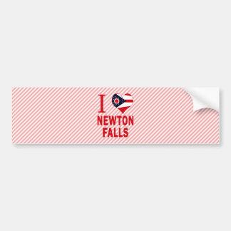 I love Newton Falls, Ohio Bumper Stickers