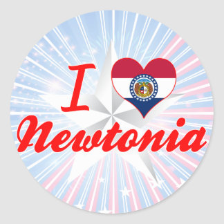 I Love Newtonia, Missouri Sticker
