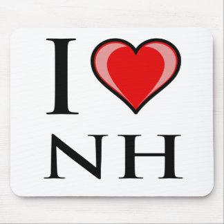 I Love NH - New Hampshire Mousepads