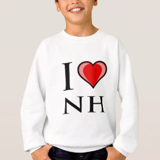 I Love NH - New Hampshire Sweatshirt