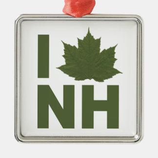 I Love NH Ornament