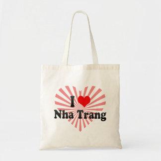 I Love Nha Trang, Viet Nam Budget Tote Bag