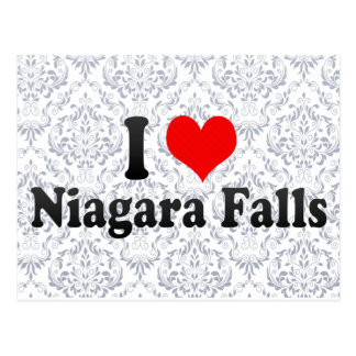 I Love Niagara Falls, Canada Post Card