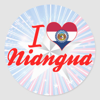 I Love Niangua, Missouri Sticker