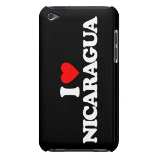 I LOVE NICARAGUA iPod TOUCH COVERS