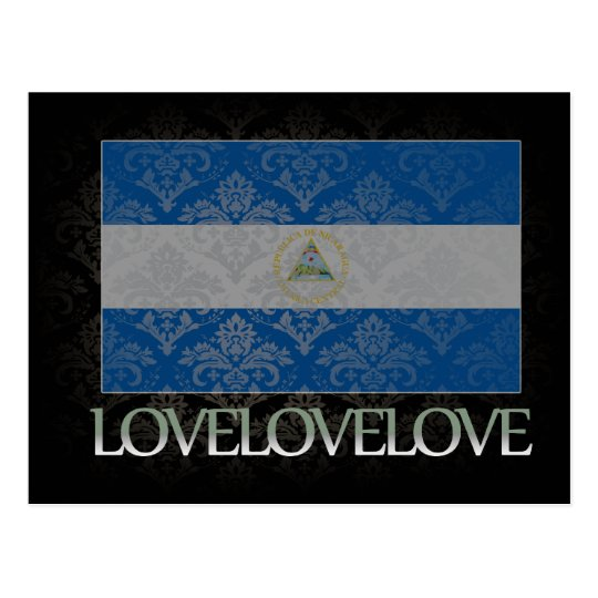 I love Nicaragua Cool Postcard