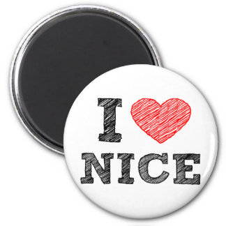 I love Nice Magnet