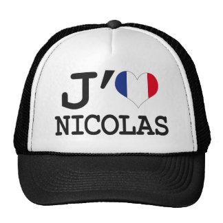 I love Nicolas Cap