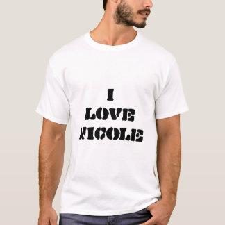 i love nicole T-Shirt