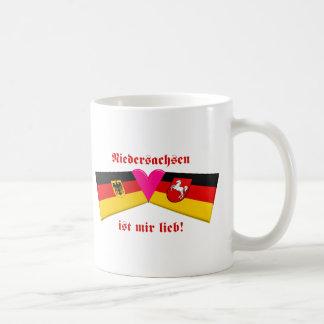 I Love Niedersachsen ist mir lieb Coffee Mugs