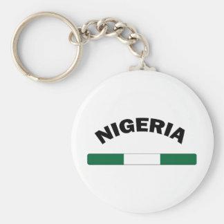 I Love Nigeria Key Chains