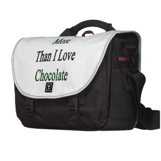 I Love Nigeria More Than I Love Chocolate Commuter Bags