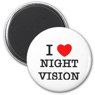 I Love Nightclubs 6 Cm Round Magnet