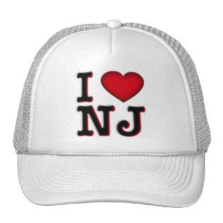 I Love NJ Apparel & Merchandise Hats