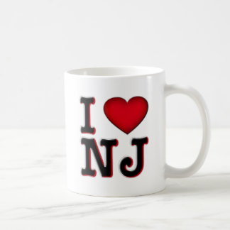 I Love NJ Apparel & Merchandise Coffee Mug