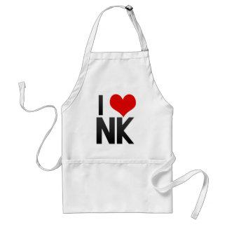 I Love NK Apron