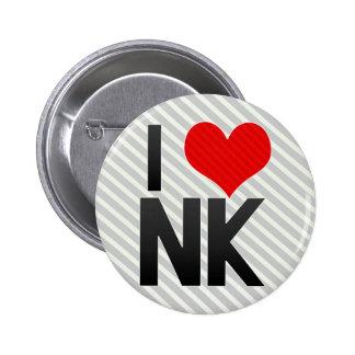 I Love NK Pins