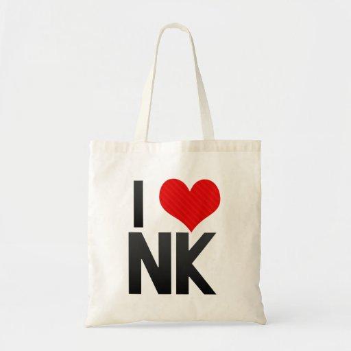 I Love NK Canvas Bag