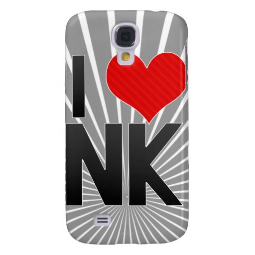 I Love NK Samsung Galaxy S4 Cases