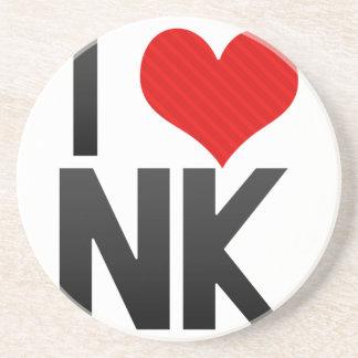 I Love NK Drink Coasters
