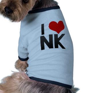 I Love NK Pet Tee