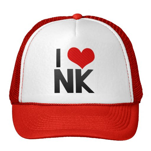 I Love NK Hats