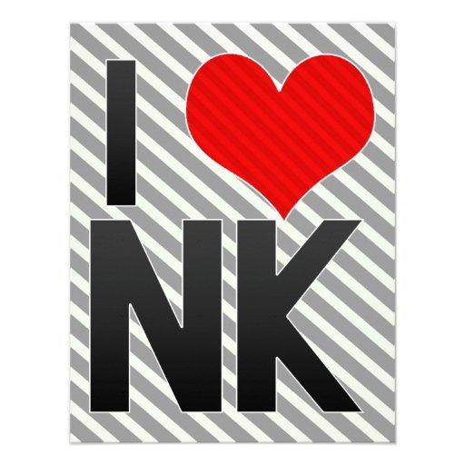 I Love NK Custom Announcement