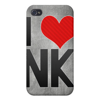 I Love NK iPhone 4 Covers