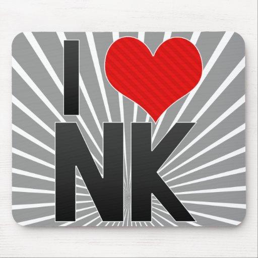 I Love NK Mouse Pad