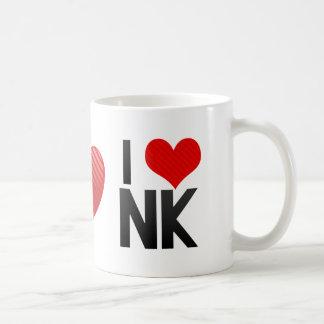 I Love NK Coffee Mugs