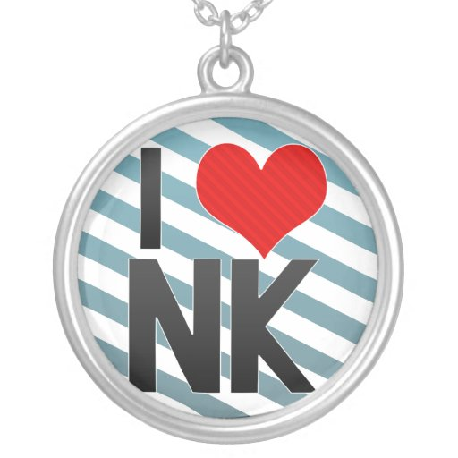 I Love NK Necklace