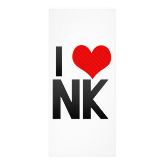 I Love NK Personalized Rack Card