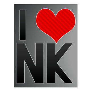 I Love NK Postcards