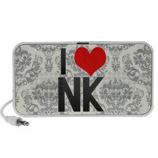 I Love NK Travel Speakers