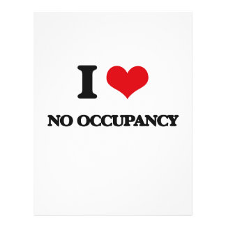 I Love No Occupancy Full Color Flyer