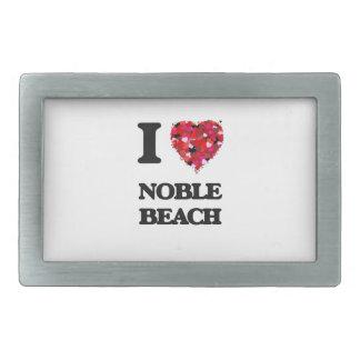 I love Noble Beach Ohio Rectangular Belt Buckles