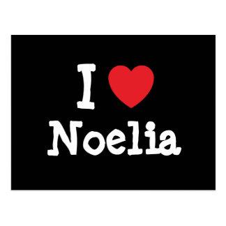 I love Noelia heart T-Shirt Post Card