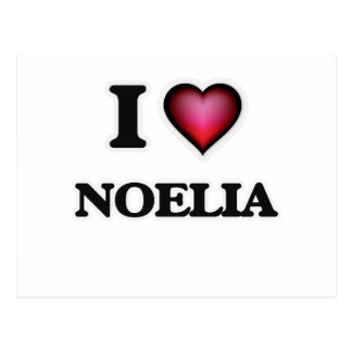I Love Noelia Postcard