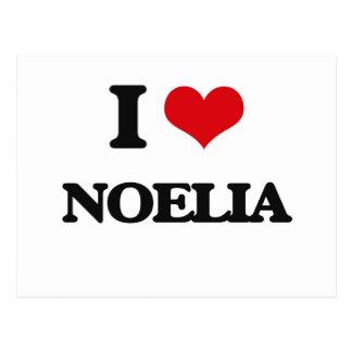 I Love Noelia Postcard