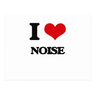 I Love Noise Post Cards