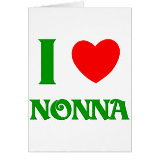 I Love Nonna Card