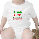 I Love Nonna (Italian Grandmother) Baby Creeper