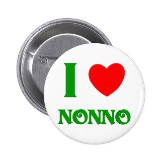 I Love Nonno 6 Cm Round Badge