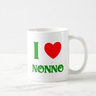 I Love Nonno Basic White Mug